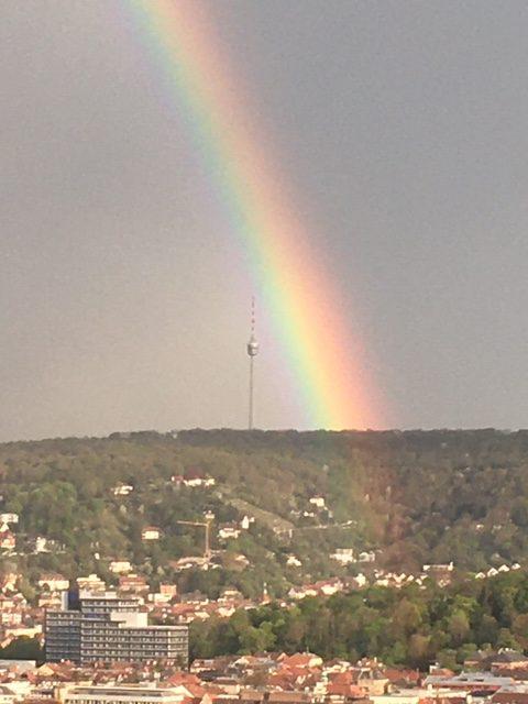 Regenbogen Ostersonntag 2020 -
